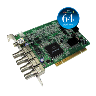 AVerMedia 4 Port 30fps NV3000 Security DVR Card (Stackable ...